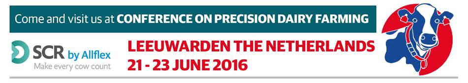 June 21-23,2016 Conference on Precision Dairy Farmin Leewarden, The Nethrelands